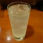 大提灯 - 生レモンサワー