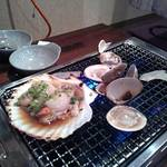海鮮や辰海 - 海鮮焼き
