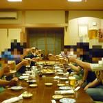 幸寿司 - 料理写真:2階広間の宴会にて