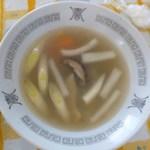 とくみ - 野菜スープ 350円 (2015年1月31日)