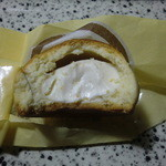 菓匠 田中 - チーズ饅頭内部