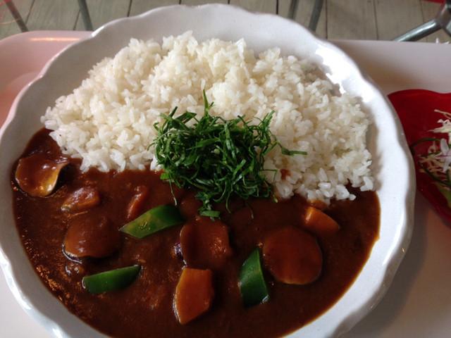 ハーヤナゴミカフェ - カレー