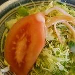 但馬 - 料理写真:ランチハンバーグセットのサラダ