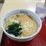 名代 箱根そば - 朝うどん290円