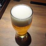チェイスコ - 生ビール580円+税