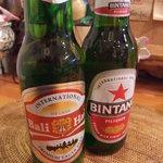 cafeロジウラのマタハリ春光乍洩 - インドネシアビール2本