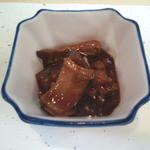 34701419 - イカと大根の煮物(お通し)