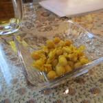 34703094 - セットであるひよこ豆のサラダ