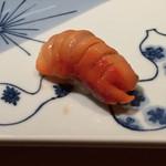 一心鮨 光洋 - 赤貝:きちんとした仕事がされていて旨い