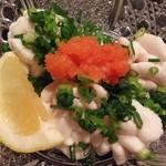 真魚 - 鱈の白子ポン酢