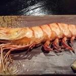 真魚 - 大海老の塩焼き