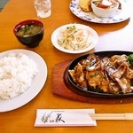 34706787 - ランチメニュー@豚味噌焼き