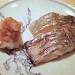 鮨 なかむら - 太刀魚の炭火焼