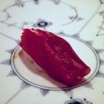 鮨 なかむら - 赤身づけ