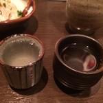 醸し屋 素郎slow - 日本酒を頼むと好きなお猪口を選ばせてくれます