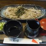 食彩館 麺工房 - 料理写真:ざるそば