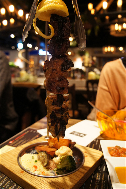 AW55 アトレ品川店 - 肉3種盛り