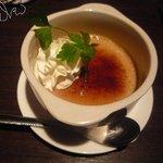 和食Dining 黒田 - 紅茶のクリームブリュレ1