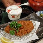 お好み食堂 蘭 - 三元豚ロースカツ定食