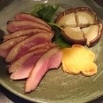 鉄板焼 ろじ - 鴨肉のロースト