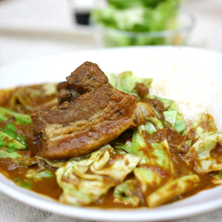 アッチャカーナ - 料理写真:豚バラカレー