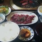 焼肉&酒食楽 凪 - 焼肉ランチ(ロース)