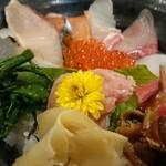 鮨処 魚喜 - 特上魚喜丼