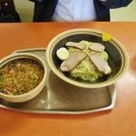 34715989 - 再訪:チャーシューつけ中華麺
