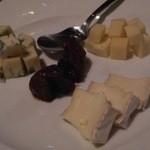 バル マラケシュ - チーズの盛り合わせ