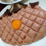 鍋よし - 料理写真:4人分。鳥たたきオススメです