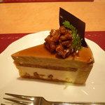 スパゲティハウスMACKY - くるみのケーキ