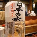 赤鬼 - 日本の水
