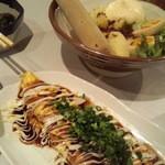34720589 - ポテトサラダとチーペ焼き
