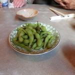 たつみ庵 - 枝豆