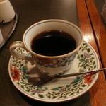 珈琲苑 - セットのコーヒー