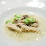 チニャーレエノテカ - トリッパとギアラの白炊き