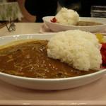 東横INN  - 夕食のカレーライス