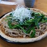 山の恵 - 料理写真:にら蕎麦