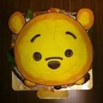タナカ - TSUMUTSUMUのプーさんのキャラクターケーキをお願いしました。