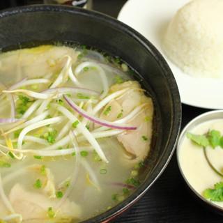 ベトナム・タイの料理も充実
