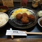 34726639 - 黒豚ヘレとんかつ定食 1450円