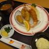 とんかつ 味奈味 - 料理写真:カキ海老定食