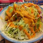 SPICE DINING - 日替わりランチ\750 サラダ