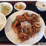 みん - 酢豚(黒酢)ランチ定食