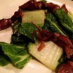 リエーブル - 今日のお通し☆サラダ用のミニ白菜など珍しい野菜が登場して嬉しや!