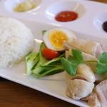 ファイブスター・カフェ - 鶏飯