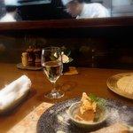 和楽 - シェフの調理を見ながら食事するのも楽しい