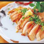 益正食堂 - 鶏-地鶏タタキ