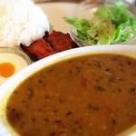 クリシュナ - 料理写真:豆カレー