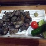庄三郎 - 料理写真:「宮崎の鳥焼き・塩焼き(700円)」[平成27年2月1日(日)撮影]
